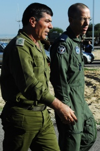 Chief of the General Staff, Lt. Gen. Gabi Ashkenazi Visits Palmachim Air Base