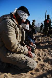 Пленные хамасовцы