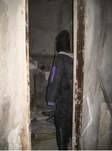 Манекен-ловушка в форме боевика Хамаса