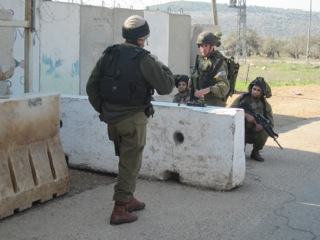 IDF Position Charged by Gunman