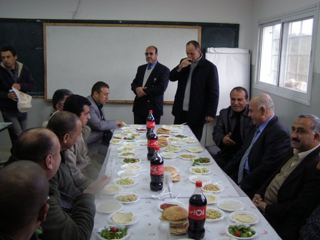 Civil Administration Funds Electricity Project for the Um Reyhan Village
