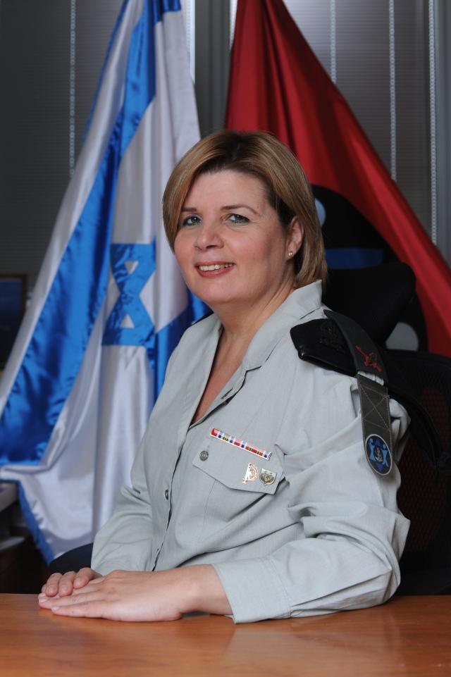 Brig. Gen. Orna Barbivay