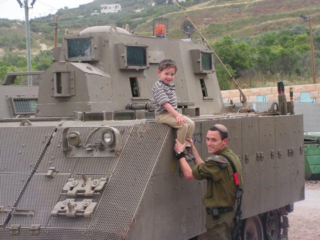 Maj. Maoz Schwartz saved a Palestinian toddler