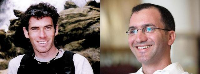 Captured Israeli soldiers Sergeant First Class (res.) Eldad Regev and Master Sergeant (res.) Ehud Goldwasser