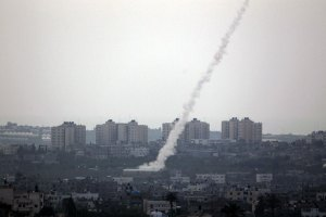 Southern Israel Under Rocket Attack.