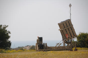 Israel's Iron Dome battery