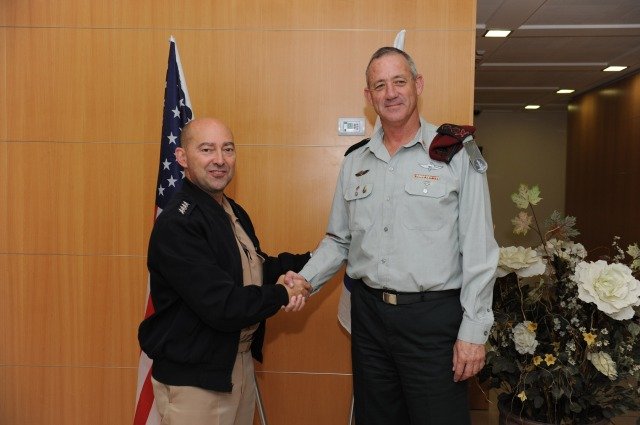 Commander of the US European Command Ends Visit in Israel