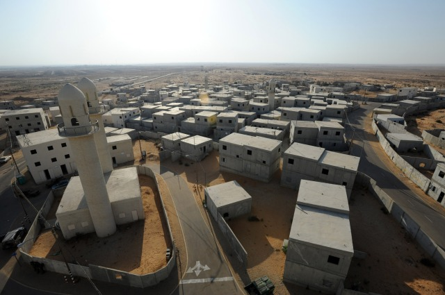 The Urban Warfare Center Simulates an Authentic, Modern Desert City, Gaza, Hamas, IDF, Israel