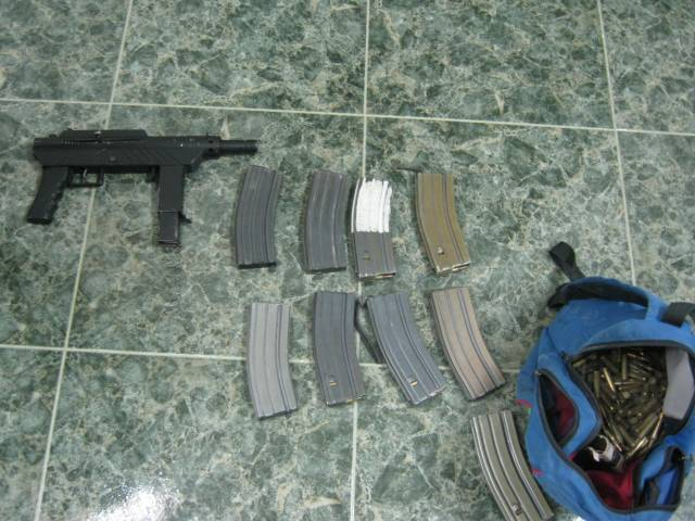 Assault Rifle and Several Magazines Uncovered Near Hebron