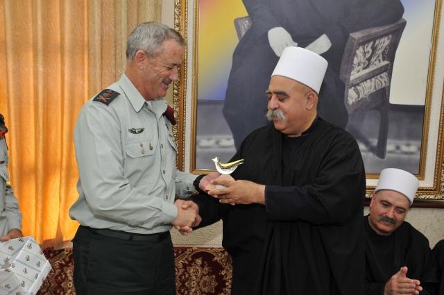 IDF Chief of Staff Meets Durze and Bedouin Community Leaders, Eid al-Adha, Druze, Arabs, Bedouin, Israel, Diversity