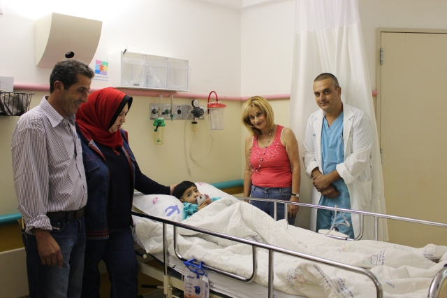 Abdullah Ramal crossed into Israel to undergo a life-saving surgery back in September