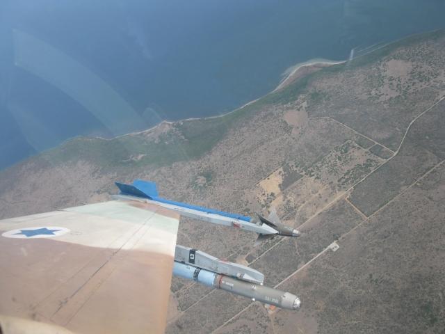 Israeli F-16 in Italy