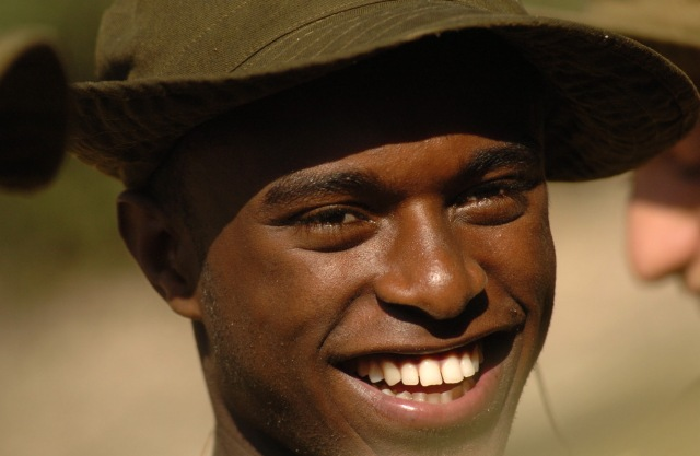 An Ethiopian combat soldier is one of many examples of how the IDF integrates minorities