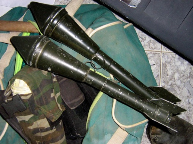 Weapons Found in Northern Gaza