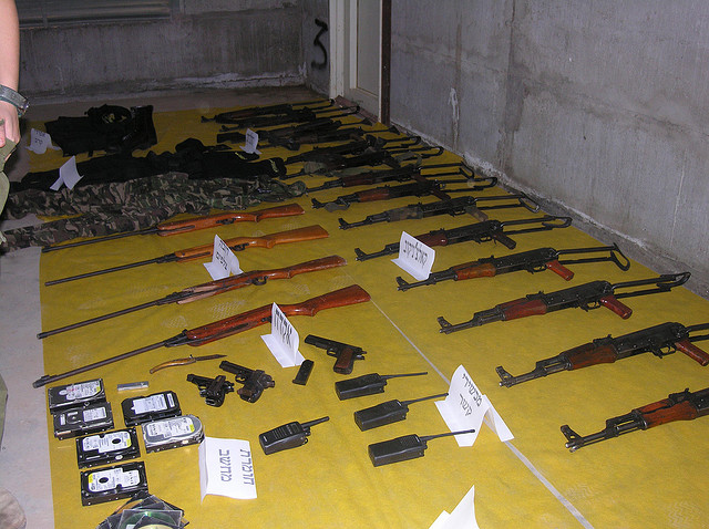 Weaponry Found in Northern Gaza