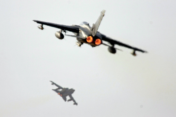 "Italian ""Tornado"" Planes"
