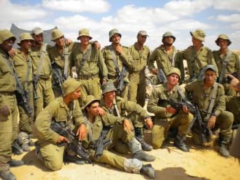 "Soldiers Graduating Combat Training are Showing the True ""IDF Spirit"""