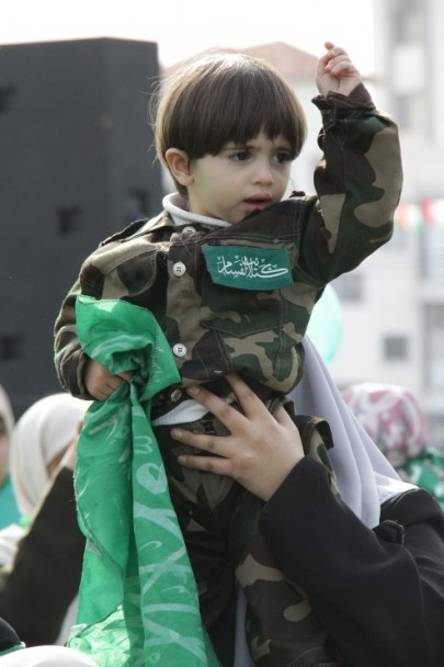 Children in Hamas Festival in Gaza
