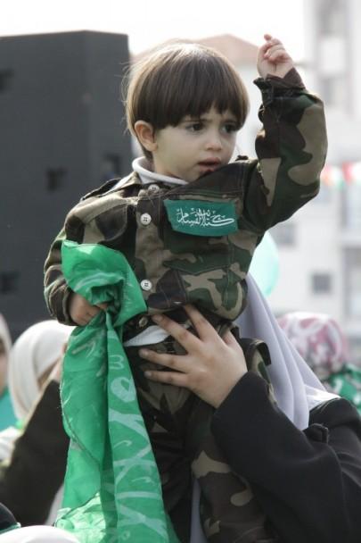 Children in Hamas Festival in Gaza