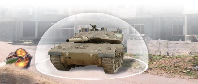 Trophy Missile Defense System
