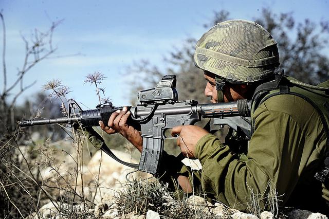 Desert Reconnaissance Battalion's Soldier in Action