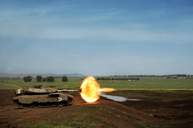 188th Armored Brigade Tank Firing