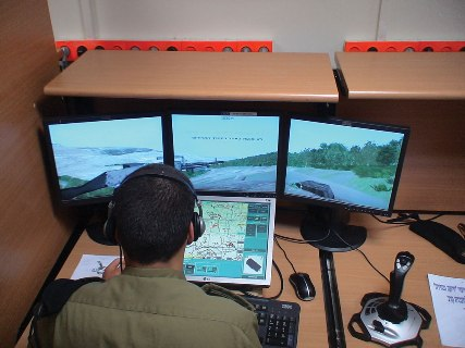 IDF Ground Forces Battle Lab Tank Simulator