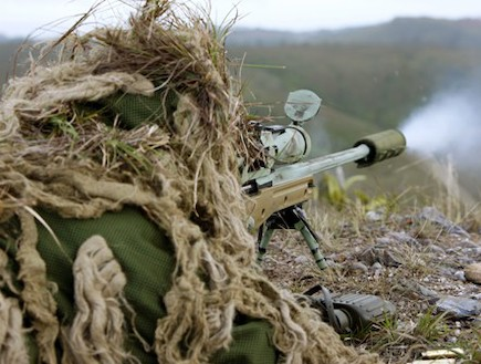 IDF Sniper at Work