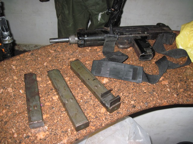 Rifle Ammo Captured in West Bank