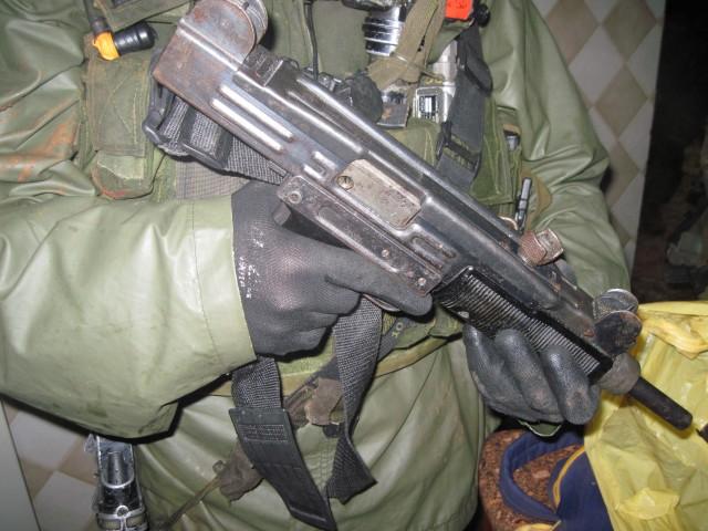 Palestinian Uzi Captured in West Bank