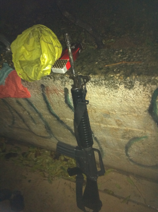 Illegal Rifle Captured in West Bank